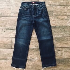 Cropped Wide Leg Jeans from 7 For All Mankind